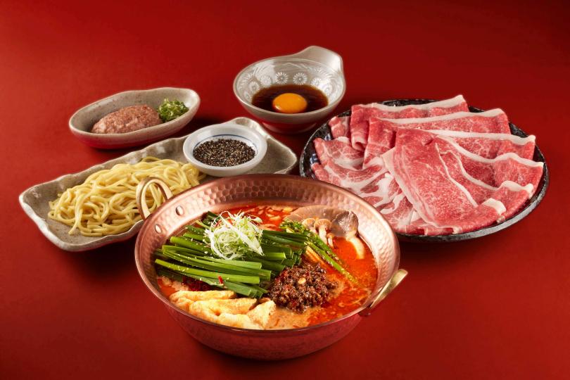 使用濃郁辛香的味噌高湯,嘗起來麻而不辣,是炎夏最經典開胃的絕佳選擇。(圖/乾杯集團)