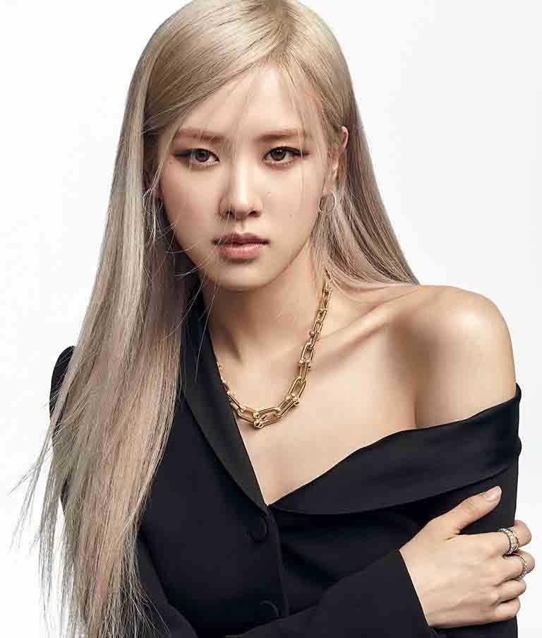 韓國女團BLACKPINK成員ROSÉ,正式擔任TIFFANY & CO.全球品牌代言人。(圖╱TIFFANY & CO.提供)
