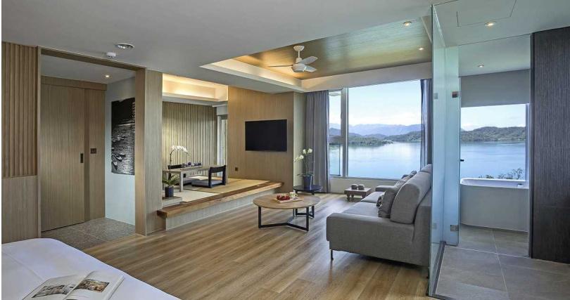客房共有48間客房、七種房型。(圖/承億文旅)
