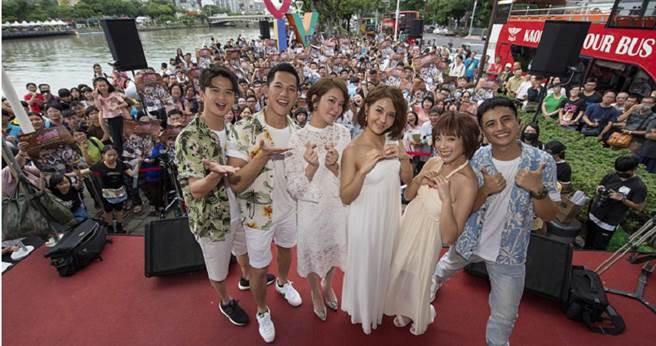 戲劇《女力報到》赴高雄舉辦粉絲見面會。(圖/TVBS提供)