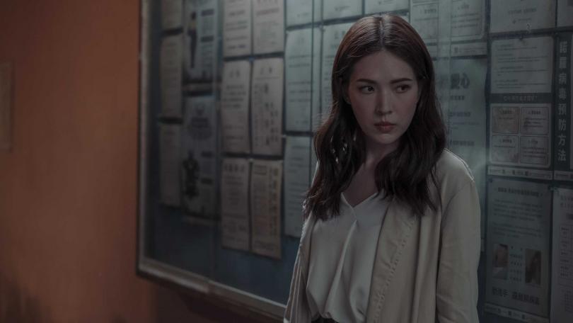 許瑋甯在《誰是被害者》的表現被張孝全形容為「演出更純熟,充滿自信與魅力」。(圖/Netflix提供)