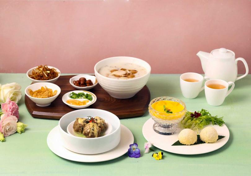 精選夢幻下午茶。(圖/玖尹餐廳提供)