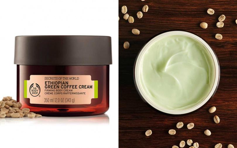 THE BODY SHOP衣索匹亞SPA綠咖啡淨化緊實身體美膚霜 350ml/1,880元(圖/翻攝自官網)