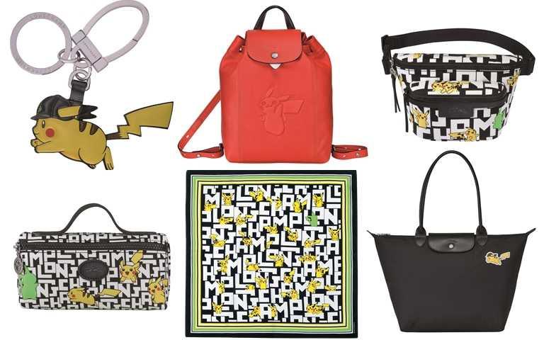 聯名系列從多款包款到配件小物種類豐富,又萌又可愛十分欠買!(圖/Longchamp)