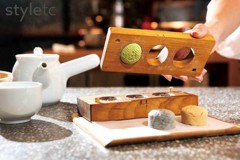 「研香所」有開設手作體驗,可以親手製作狀元糕等傳統糕點。(圖/店家提供)