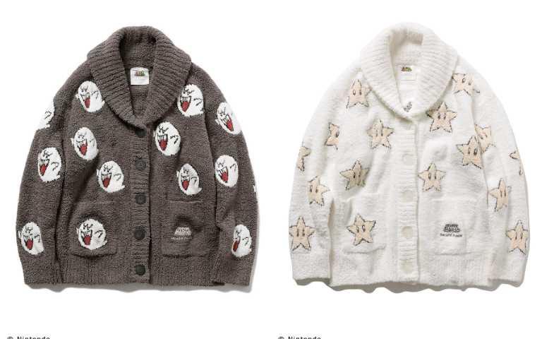 居家排釦外套女款售價7,920日元、男款8,580日元。