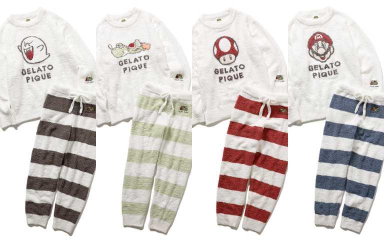 條紋居家服飾售價12,760日元。