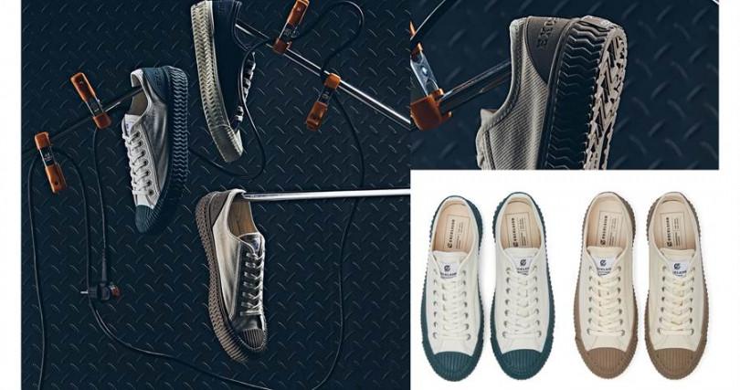 EXCELSIOR Bolt Prime2/3,280元  透過鞋後跟的地方直接大膽宣示出妳的品牌理念。(圖/品牌提供)