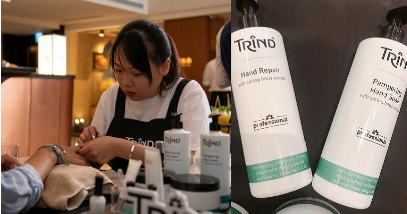 TRIND頂級手足保養系列台灣正式上市於各大合作SALON通路和官網都有販售(圖/品牌提供、黃筱婷攝影)