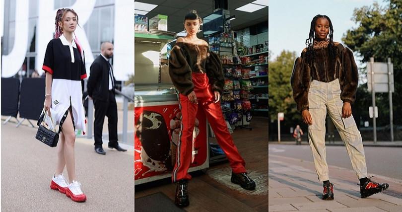 時尚部落客搶先穿上Arthur出席時裝周。 (圖/翻攝自Burberry官網、IG)