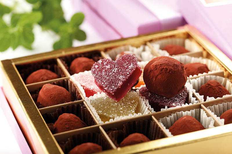 法式松露巧克力亦獲ICA大獎,與法式軟糖任組人氣禮盒。(750元起/16入)(圖/于魯光攝)