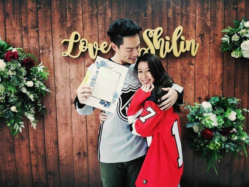 許孟哲和趙孟姿結婚三個月便做人成功,進度飛快。(圖/翻攝許孟哲臉書)
