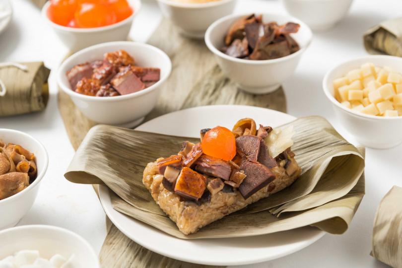 粽夏烤鴨粽。(圖/華泰王子大飯店提供)