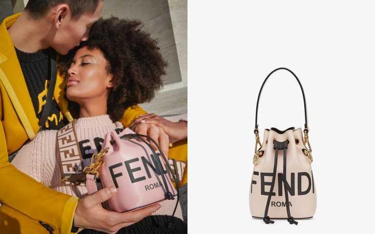 FENDI Mon Trésor 迷你水桶包/60,900元(圖/品牌提供)
