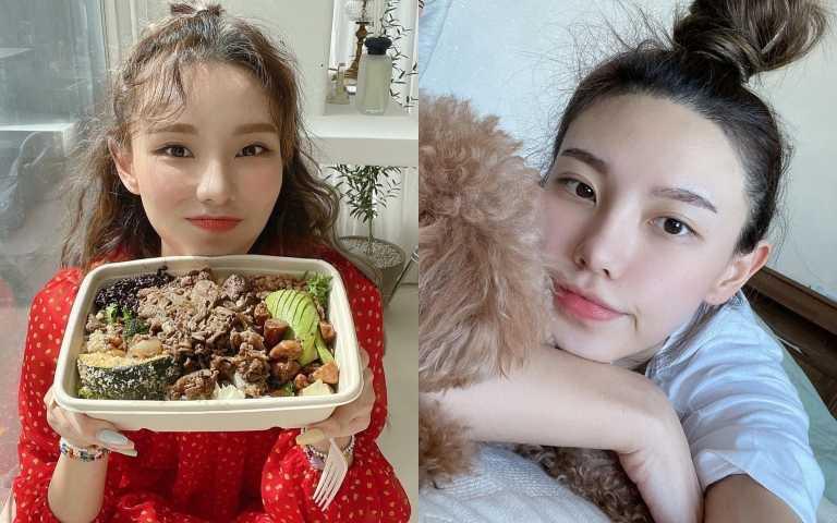 韓國健身網紅jini還會教大家如何控制飲食。(圖/IG)