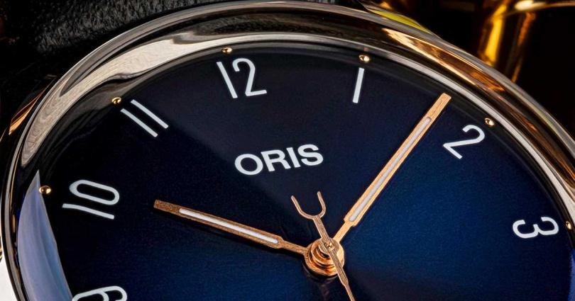 ORIS「James Morrison AoM音樂學院」限量腕錶╱60,000元。(圖╱ORIS提供)