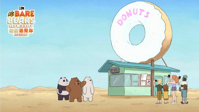 《熊熊遇見你電影超棒DER》照。(圖/HBO提供)