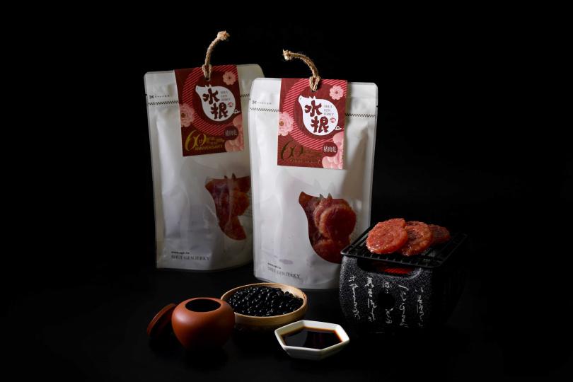 台味醬燒肉乾」官網優惠價300元,原價350元。(圖/水根肉乾提供)