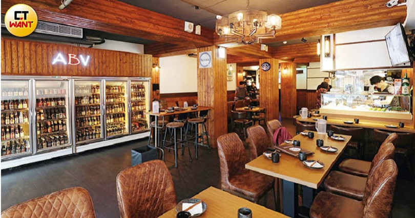 位在台北晶華商圈的「ABV日式居酒館」,開幕不久已累積不少死忠饕客。(圖/于魯光攝)