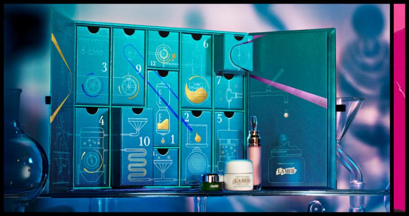 LA MER海洋拉娜奇幻實驗室倒數日曆1組 /15,800元。(圖/品牌提供)