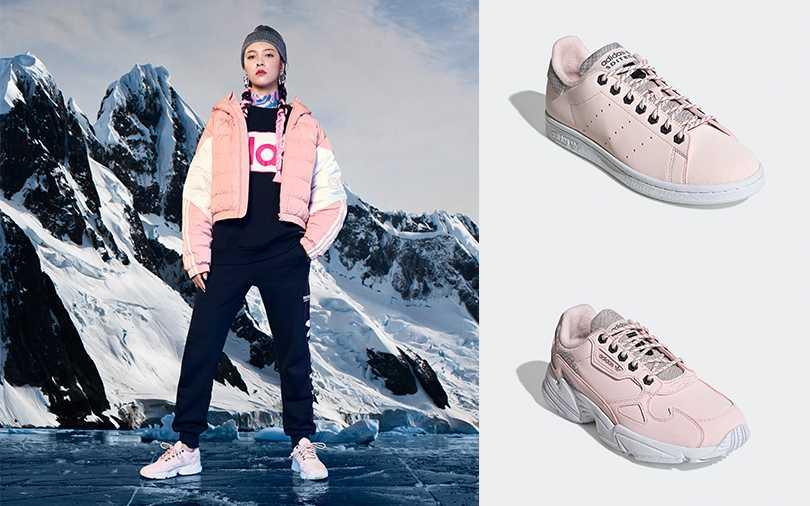 adidas Originals ADITECH Stan Smith女生鞋款/NT3,690(上),Falcon女生鞋款/NT3,690(下)(圖/adidas Originals提供)
