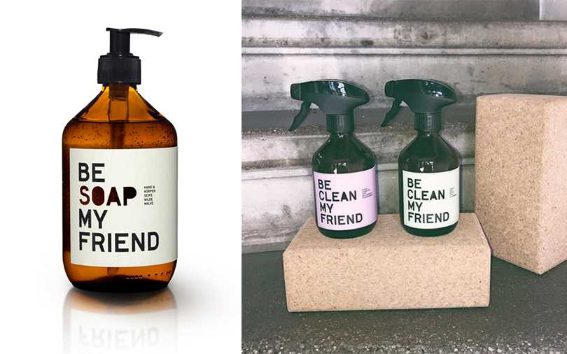 Be [Clean] My Friend香氛噴霧/NT1,150,Be [Soap] My Friend洗手沐浴乳/NT1,250(圖/ARTIFACTS提供)