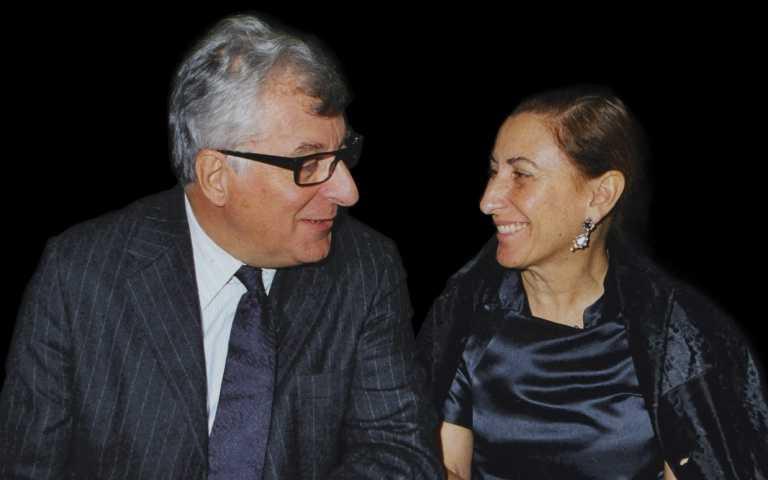 Prada 集團的聯合執行長Prada女士和Bertelli 先生(圖/品牌提供)