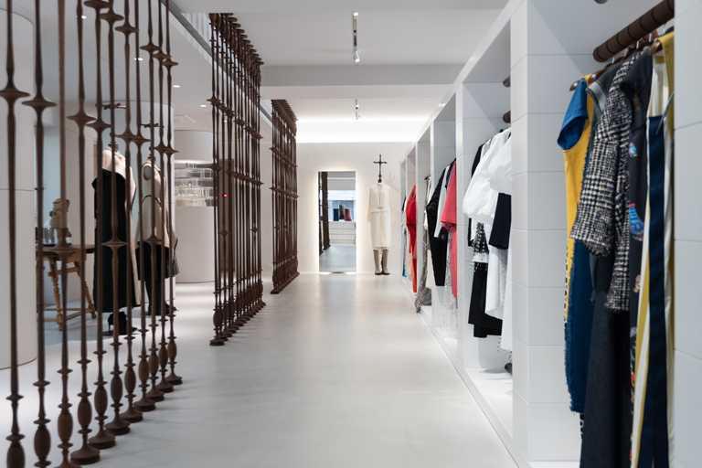 JAMEI CHEN大安概念店,以「時尚告解室」爲核心主軸,劃分成五個空間區域。(圖╱JAMEI CHEN提供)