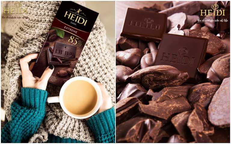 85%黑巧克力。(圖/Heidi赫蒂提供)