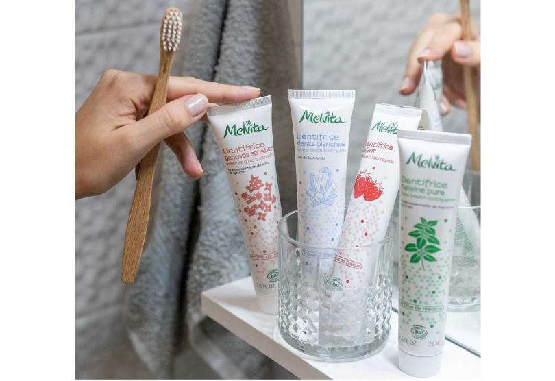 Melvita的牙膏就是許多人推崇的安心產品,以100%純天然不含SLS及氟化物潔淨配方,結合有機植萃成分。更有身為牙醫的客人帶貨保證,一買就是10條,成為默默熱賣的人氣王。(圖/品牌提供)