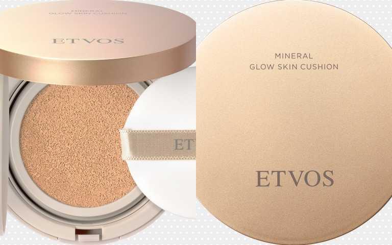 ETVOS保濕亮澤礦物氣墊粉餅SPF32 PA+++/2,530元(圖/品牌提供)