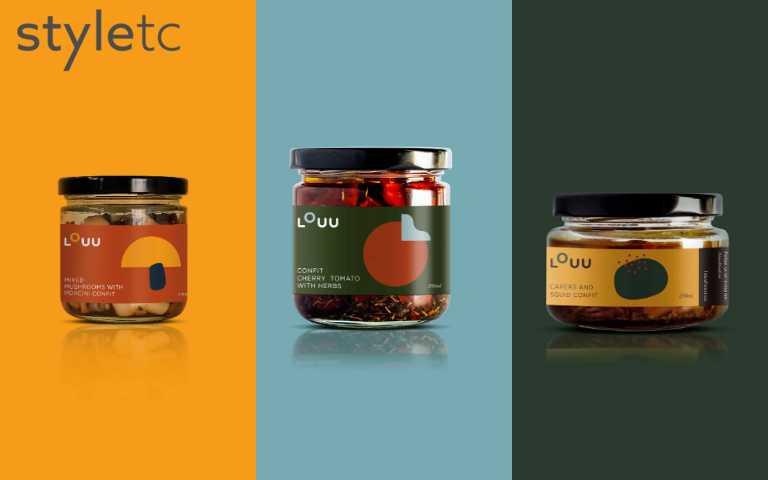 以圓點、色塊交疊的鮮明風格,大幅提升設計感,一改傳統罐頭形象。(圖/品牌提供)