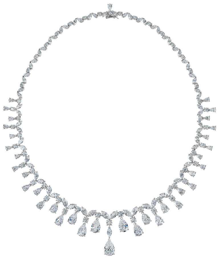 DE BEERS「Assana」高級珠寶鑽石項鍊╱14,550,000元。(圖╱DE BEERS提供)