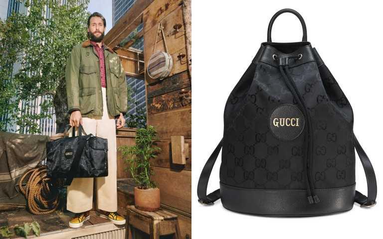 Gucci Off The Grid 系列托特包/69,300元、水桶包/64,800元(圖/品牌提供)