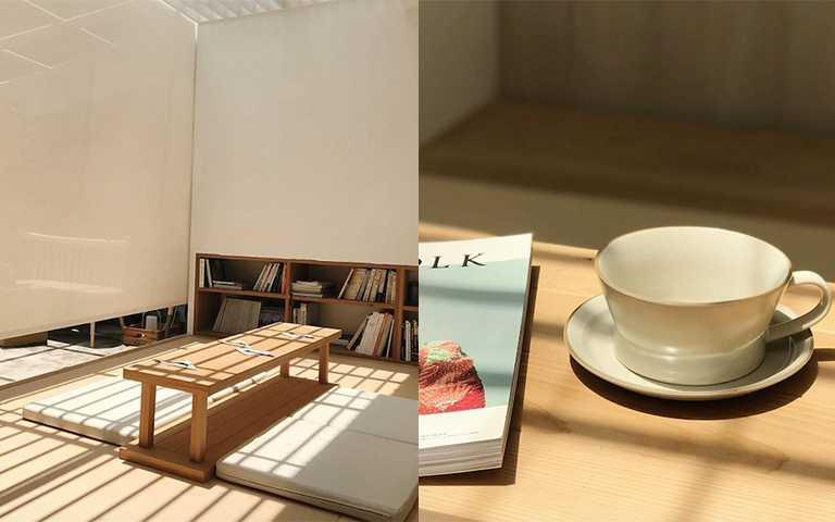 日式禪風空間可以預約包場下午茶,快約姐妹一起享受愜意下午。(圖/jaijailifestyle IG)
