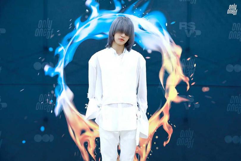 JunJi的髮型引發關注。(圖/Applewood Taiwan 提供)