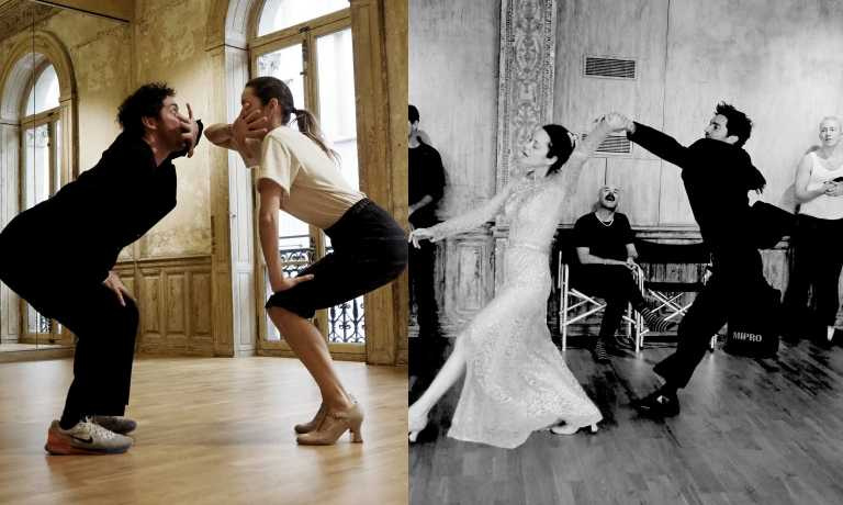 廣告代言人瑪莉詠·柯蒂亞和芭蕾舞者傑洛米·比蘭格在影片中展現精湛舞技,並為了讓律動更自然密集上了五天課程。(圖片/品牌提供)