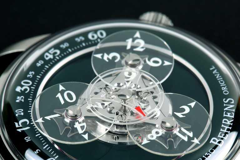BEHRENS ORIGINAL「Astronomer宇航員」系列腕錶,42mm,316L不鏽鋼錶殼╱68,000元。(圖╱BEHRENS ORIGINAL提供)