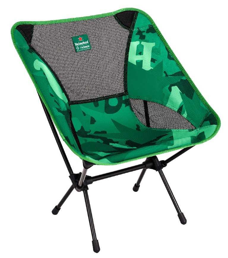 聯名輕量露營椅,全台限量2,470組。(建議售價4,500元)