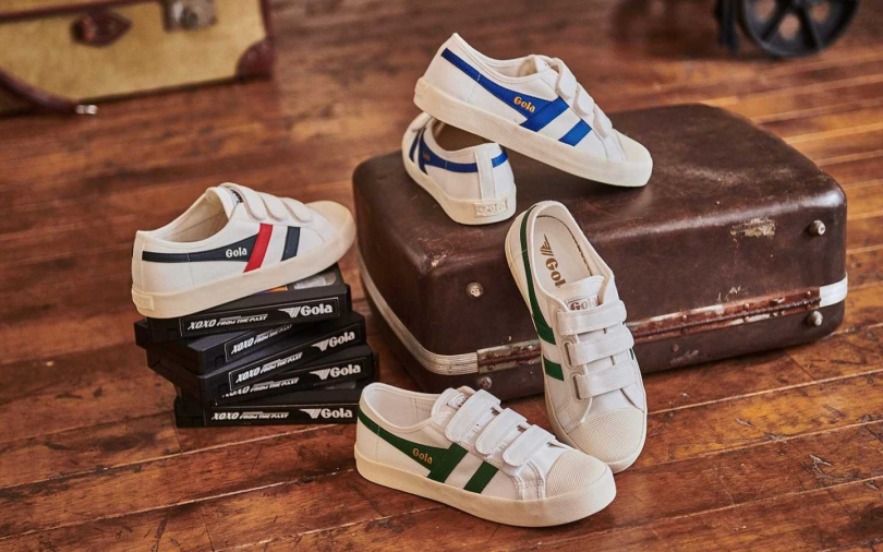 多款皆以不到NT2,000的小資價格販售,超好搭的小白鞋今年必收!(圖/Gola)