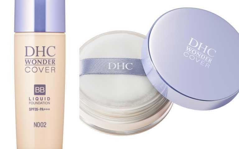 DHC BB晶亮潤澤粉底液 SPF35 PA+++ 30g 、晶亮潤澤蜜粉/各780元(圖/品牌提供)