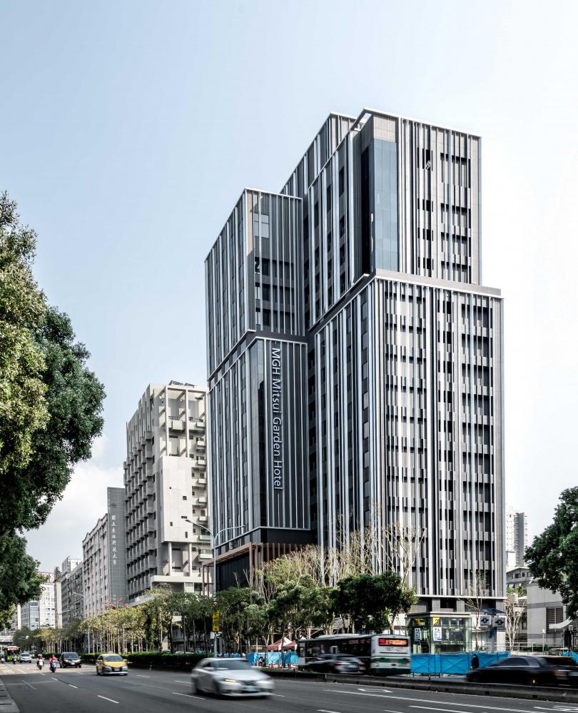 位於忠孝新生站附近的日式飯店今天開始試營運。(圖/和苑三井花園飯店 台北忠孝提供)