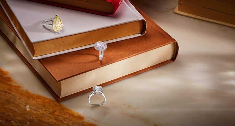 DE BEERS頂級單鑽戒指。(圖╱DE BEERS提供)