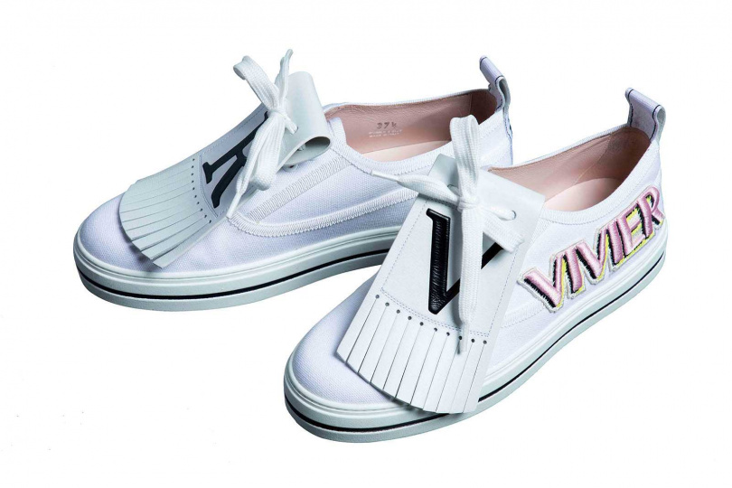 Roger VivierCall Me Vivier Patch運動鞋 約33,500元(品牌贊助)(攝影/莊立人)