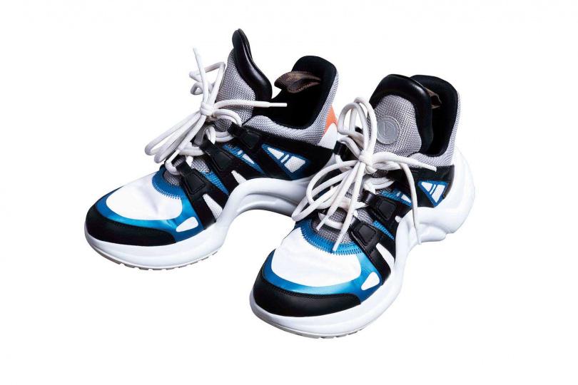 LOUIS VUITTONLV Archlight運動鞋/35,000元(攝影/莊立人)