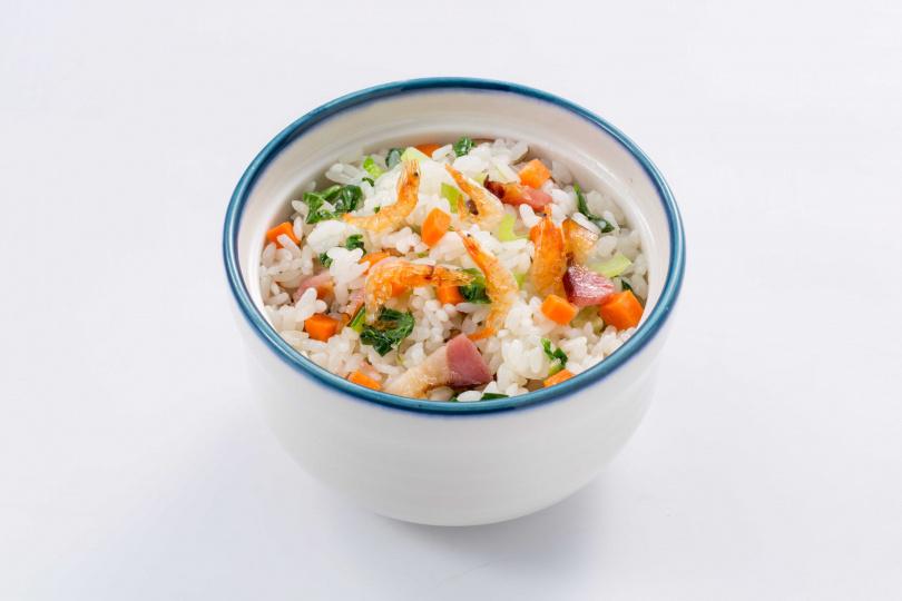 圖為「臘味青江菜炊飯」。
