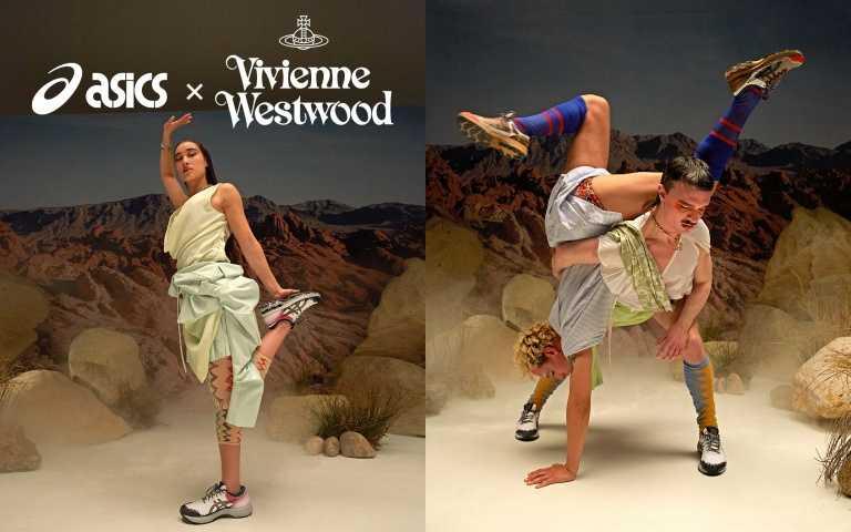 ASICS X Vivienne Westwood GEL-KAYANO 27 DE/7,280元。(圖/品牌提供)
