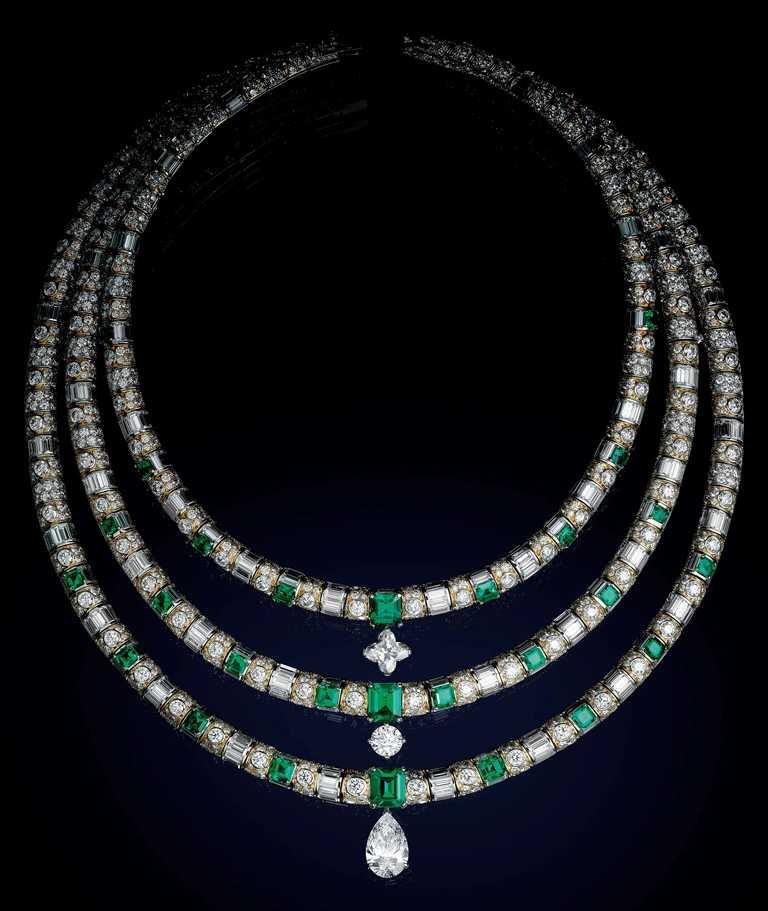 LOUIS VUITTON「Bravery」系列高級珠寶,「L' Aventure」項鍊。(圖╱LOUIS VUITTON提供)
