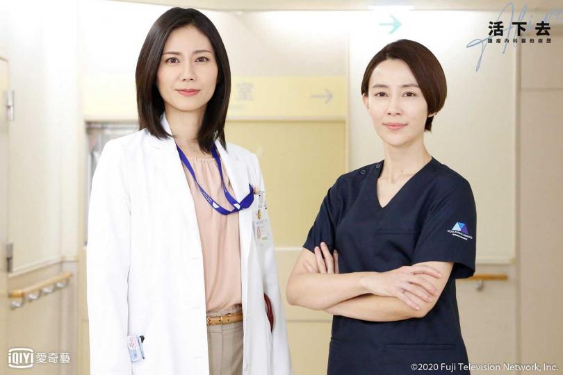 松下奈緒(左)與木村佳乃上次合作已是15年前。