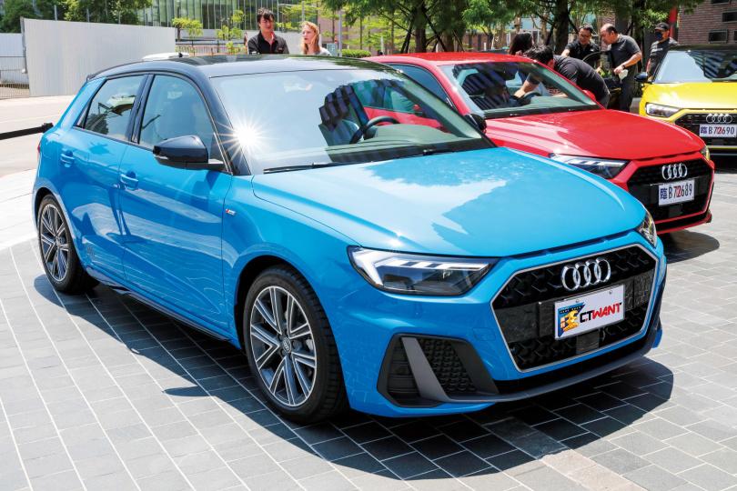 2018年 New Audi A1在海外曝光後,許多車迷便摩拳擦掌準備下手。(圖/馬景平攝)